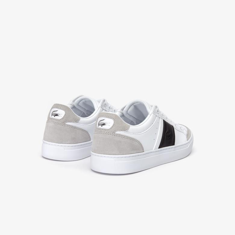 Lacoste Courtline Erkek Logo Detaylı Beyaz Sneaker