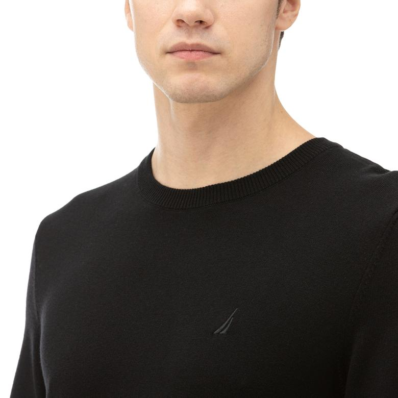 NAUTICA Erkek Siyah Triko