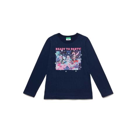 Benetton Çocuk Disney Princess Baskılı T-Shirt