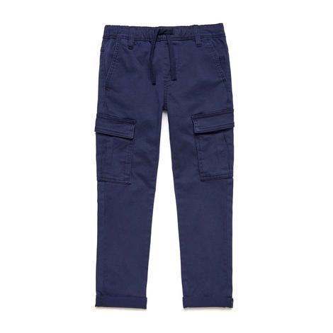 Benetton Çocuk Beli İpli Kargo Pantolon