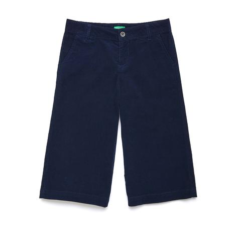 Benetton Çocuk Geniş Kesim Crop Pantolon