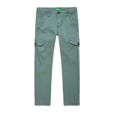 Benetton Çocuk Skinny Kargo Cepli Pantolon