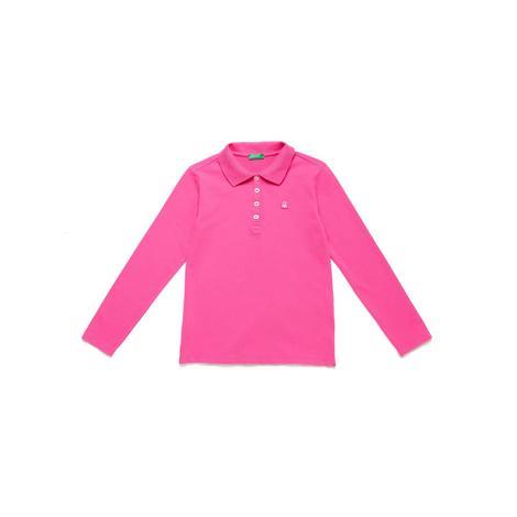 Benetton Çocuk Logo Pike Polo T-Shirt