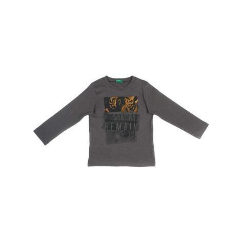 Benetton Çocuk Grafik Baskılı T-Shirt