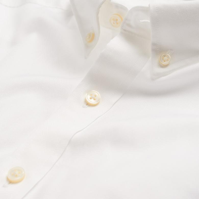Gant Gömlek PinPoint Oxford Beyaz Erkek