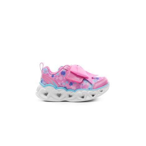 Skechers Heart Lights Işıklı Pembe Bebek Spor Ayakkabı