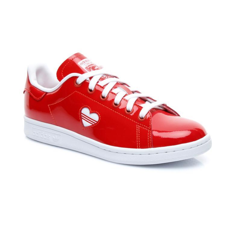 adidas Originals Stan Smith Kadın Kırmızı Spor Ayakkabı