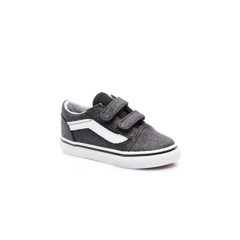 Vans TD Old Skool V Çocuk Siyah Sneaker