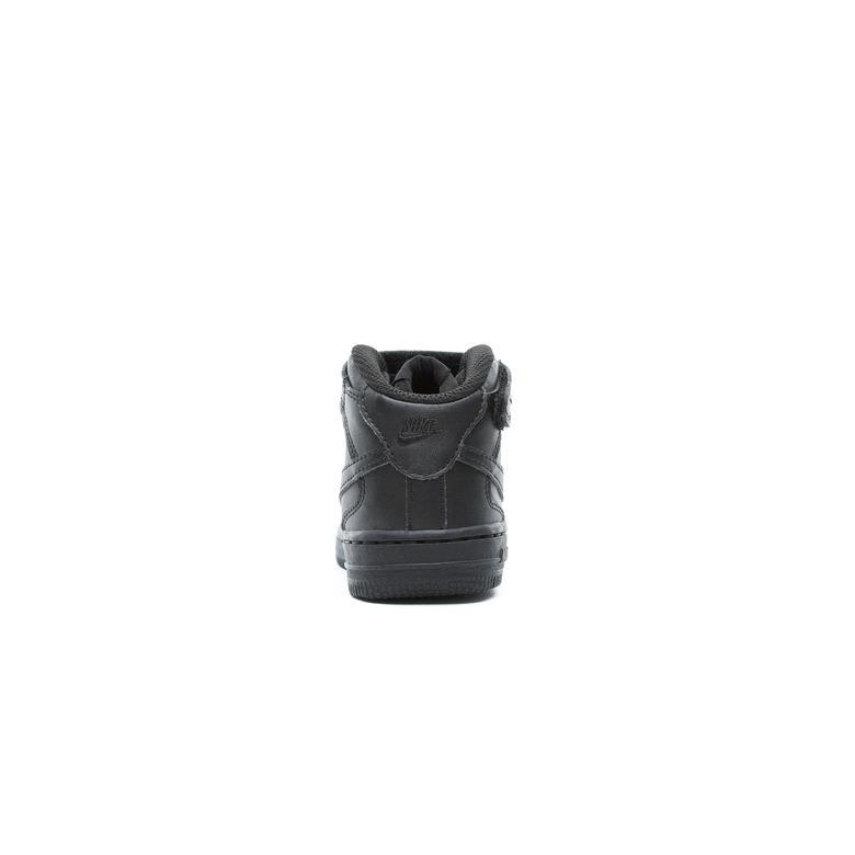 Nike Air Force 1 Mid Çocuk Siyah Sneaker