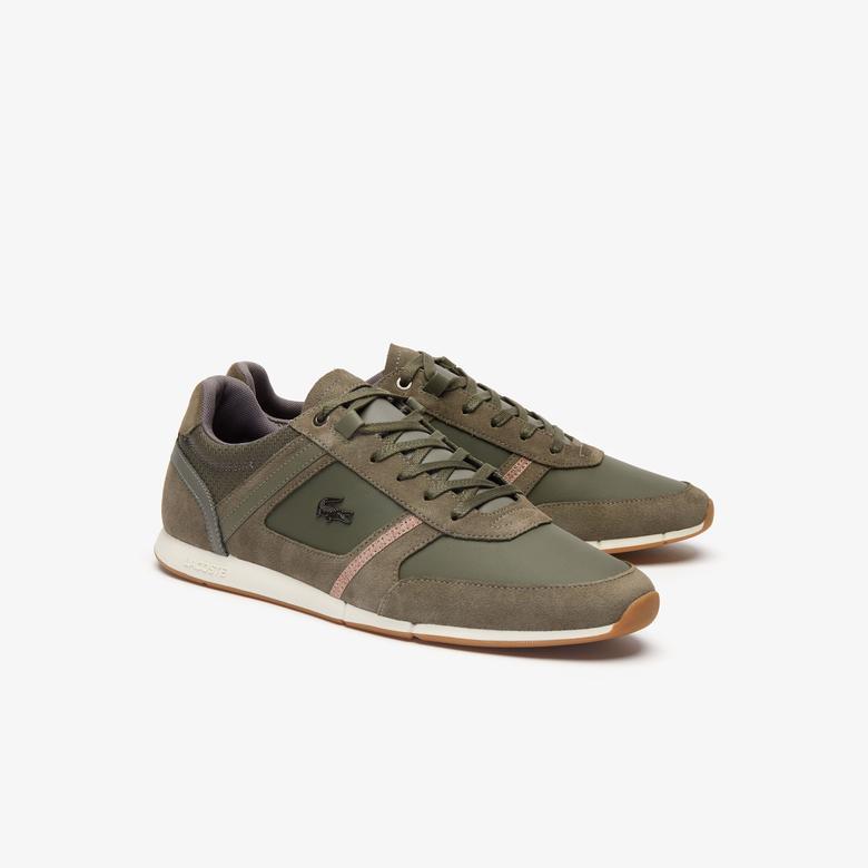 Lacoste Menerva Erkek Haki - Açık Kahverengi Günlük Ayakkabı