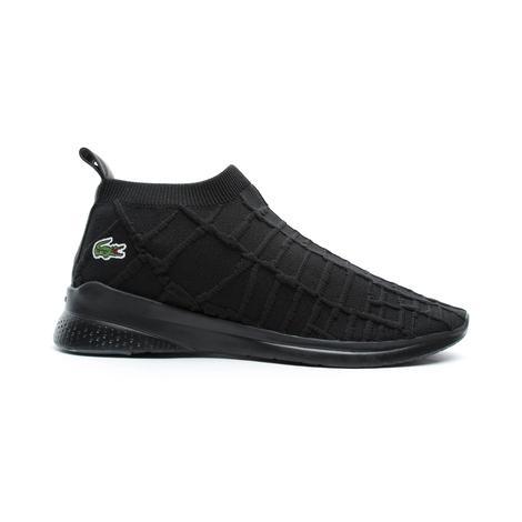 Lacoste Lt Fit Sock Erkek Siyah Spor Ayakkabı