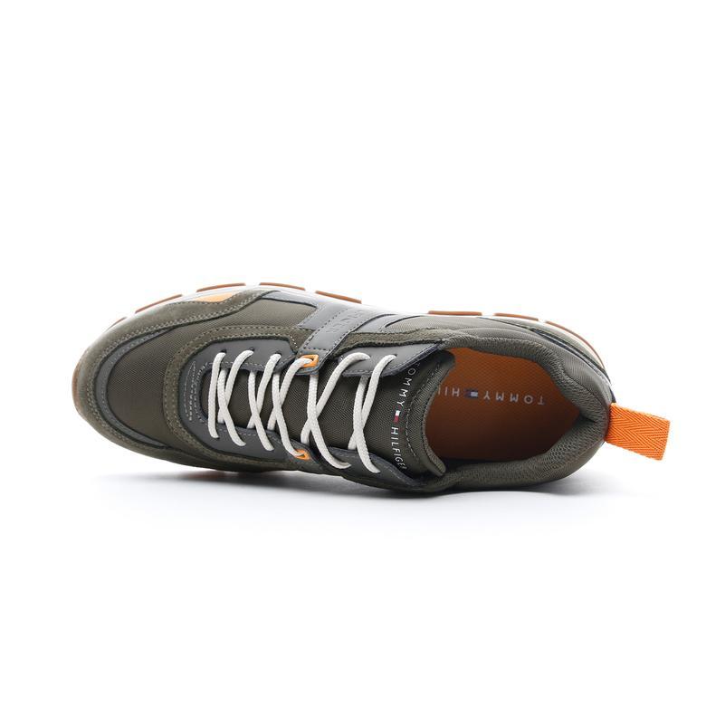 Tommy Hilfiger Fashion Mix Erkek Haki Spor Ayakkabı