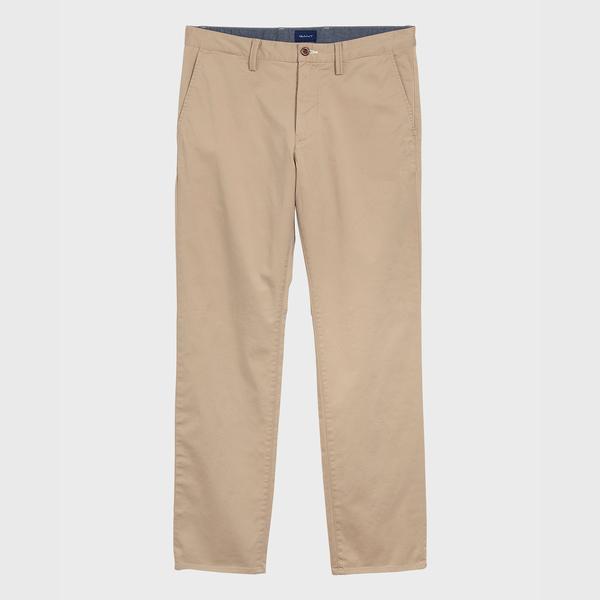 GANT Erkek Bej Regular Fit Chino Pantolon