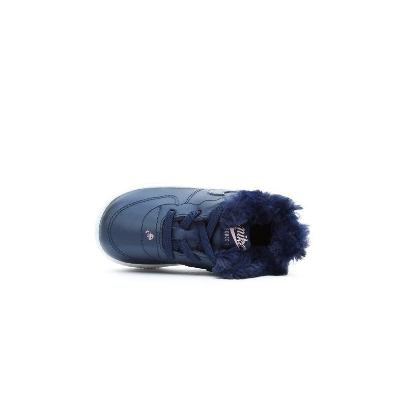 Nike Force 1 '18 Vday Çocuk Lacivert Spor Ayakkabı
