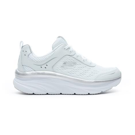 Skechers D'Lux Walker - Infinite Motion Kadın Beyaz Spor Ayakkabı