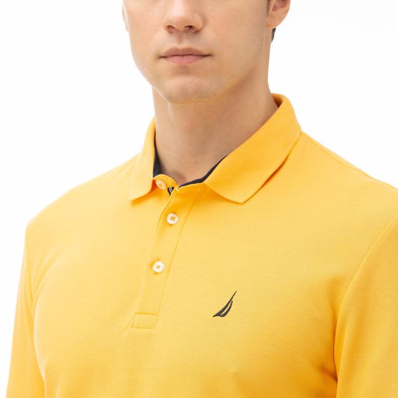 Nautica Erkek Classic Sarı Polo
