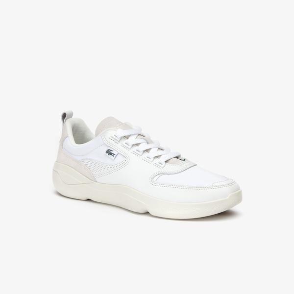 Lacoste Wildcard Erkek Beyaz Spor Ayakkabı