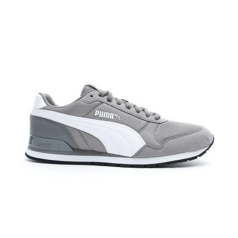 Puma St Runner V2 Mesh Erkek Gri Spor Ayakkabı