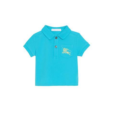 Burberry Çocuk Mavi Polo