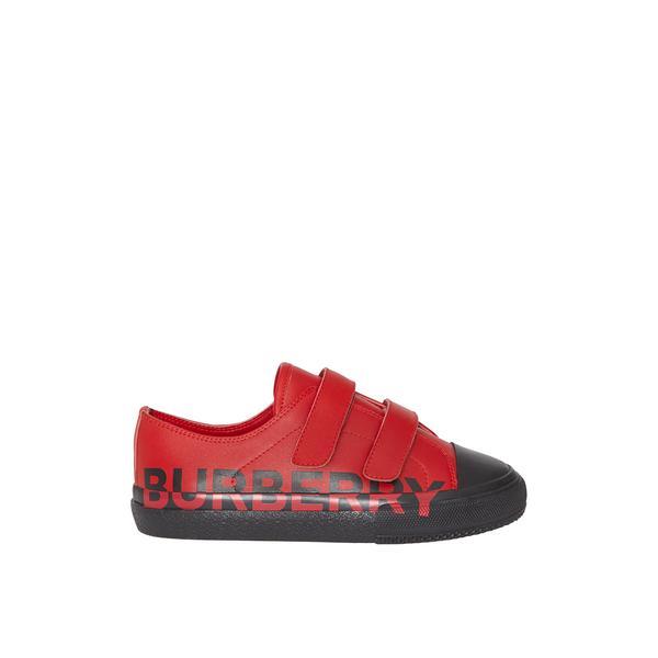 Burberry Çocuk Kırmızı Ayakkabı