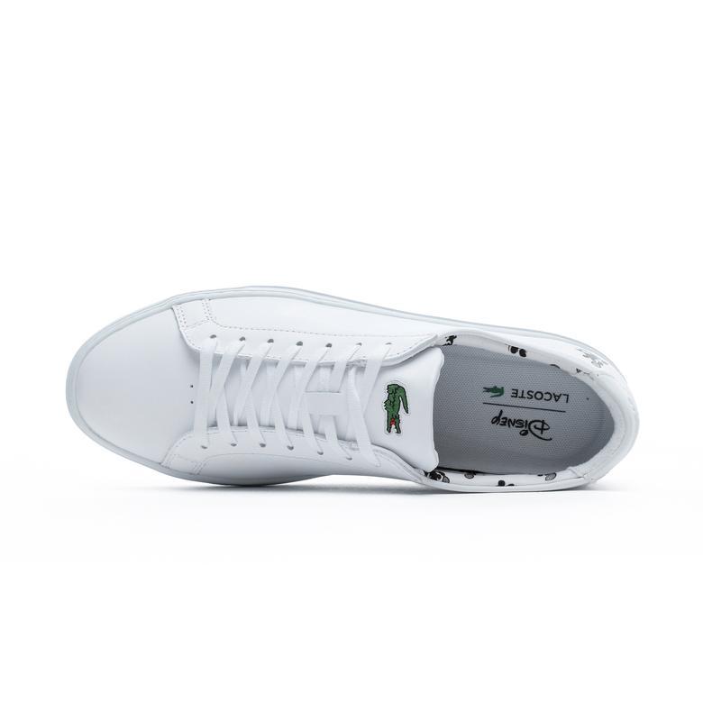 Lacoste Erkek L.12.12 418 1 Disney Cam Beyaz Sneaker