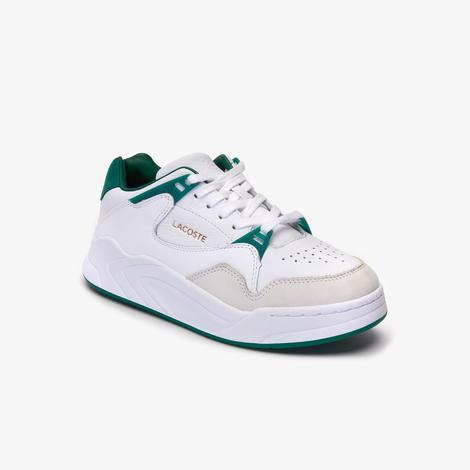 Lacoste Court Slam Kadın Beyaz - Yeşil Spor Ayakkabı