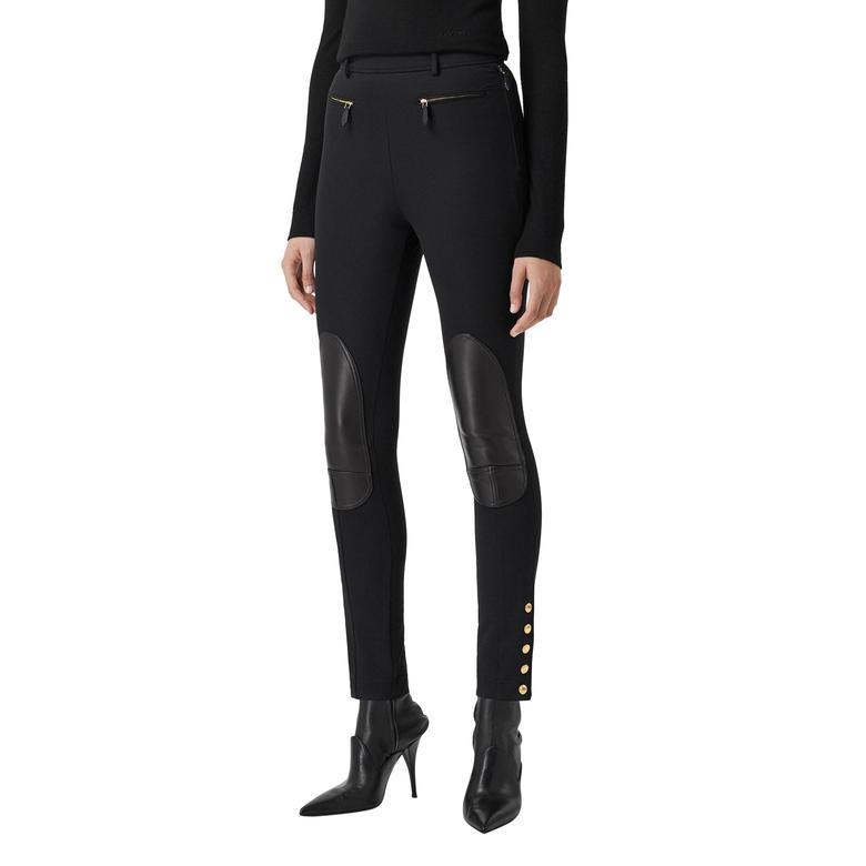 Burberry Kadın Siyah Pantolon