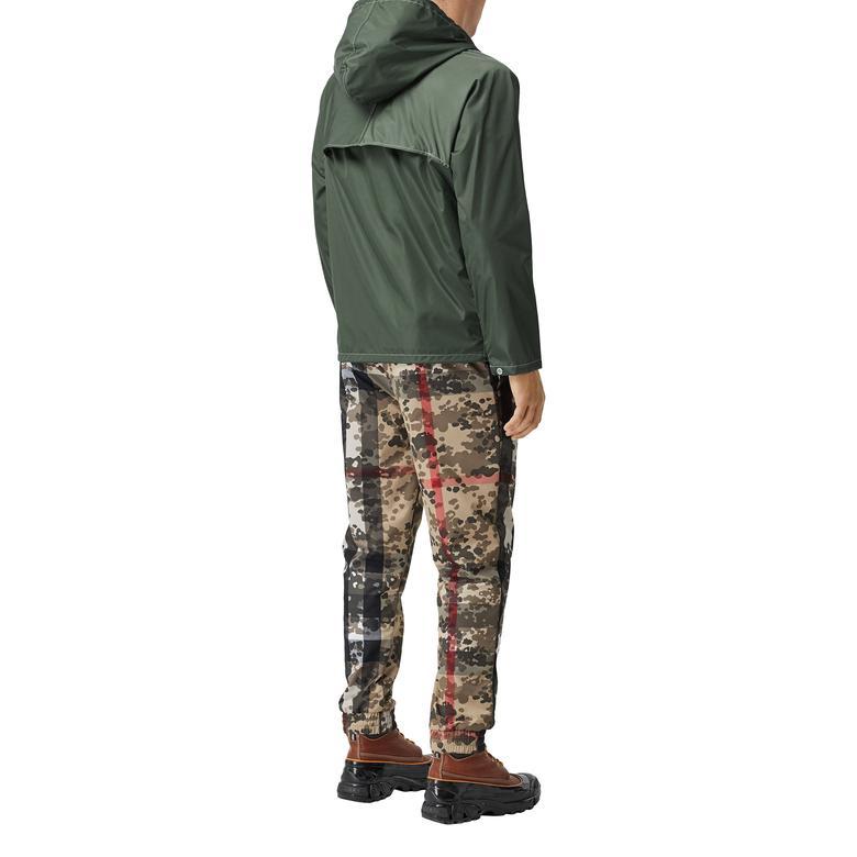 Burberry Erkek Yeşil Mont