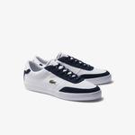 Lacoste Court-Master Erkek Beyaz-Lacivert Casual Ayakkabı