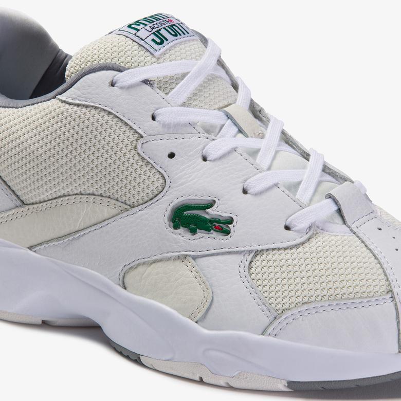 Lacoste Storm 96 120 2 Sma Erkek Beyaz File Detaylı Sneaker