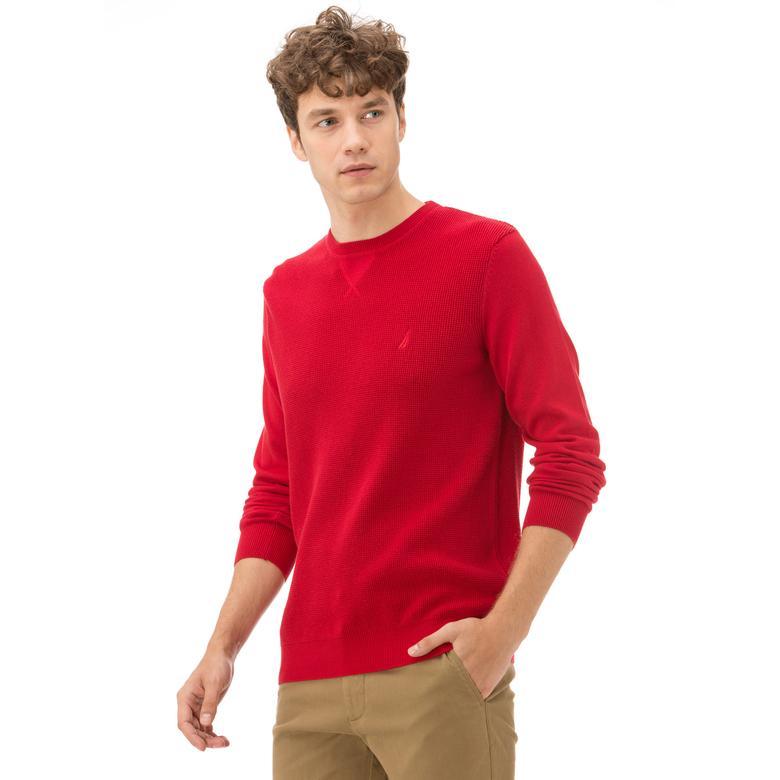 Nautica Kırmızı Erkek Triko