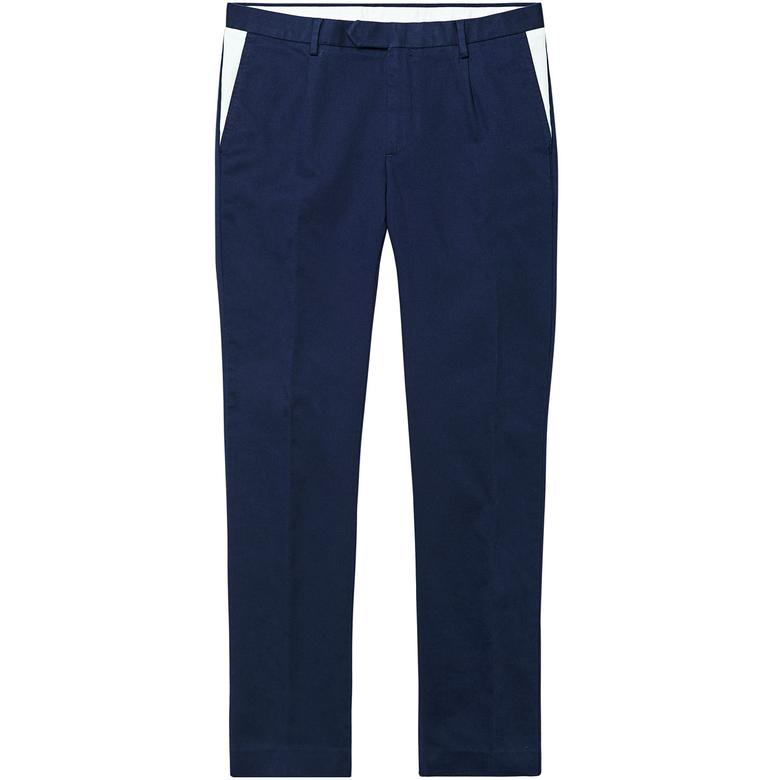 Gant Tailored Erkek Lacivert Pantolon