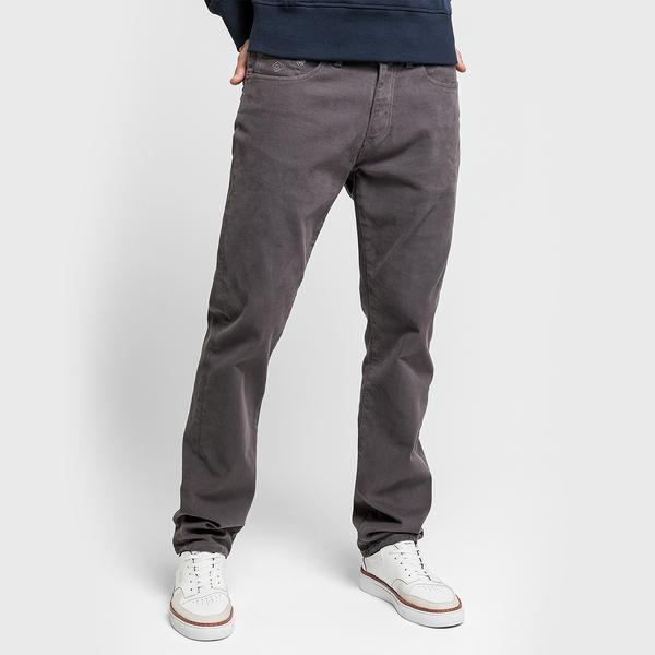 GANT Erkek Gri Regular Fit Pantolon
