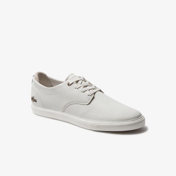Lacoste Esparre 120 2 Cma Erkek Beyaz - Lacivert Spor Ayakkabı