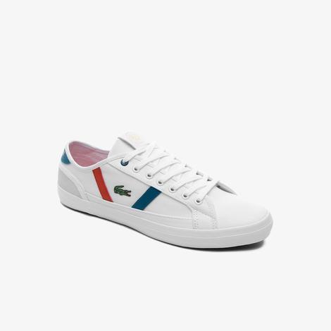 Lacoste Sideline Rg 120 1 Cma Erkek Beyaz - Yeşil Sneaker
