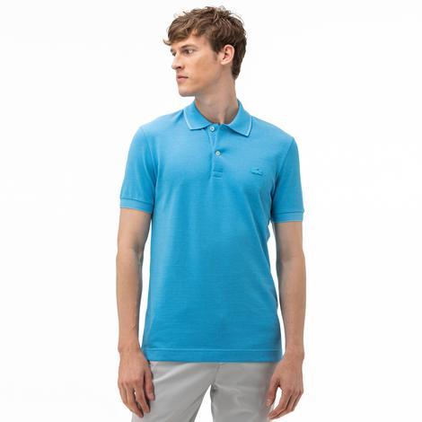Lacoste Erkek Regular Fit Açık Mavi Kısa Kollu Polo