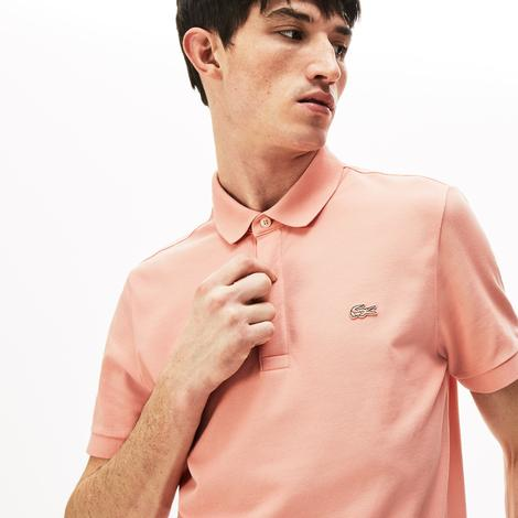 Lacoste Erkek Regular Fit Açık Pembe Paris Polo