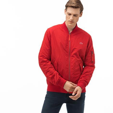 Lacoste Erkek Kırmızı - Lacivert Çift Taraflı Ceket