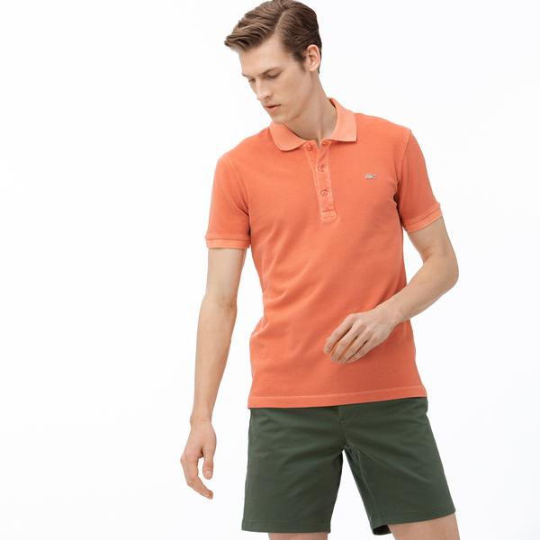 Lacoste Erkek Slim Fit Turuncu Polo