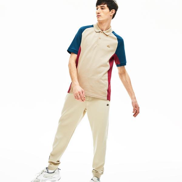 Lacoste Erkek Regular Fit Blok Desenli Renkli Kısa Kollu Polo
