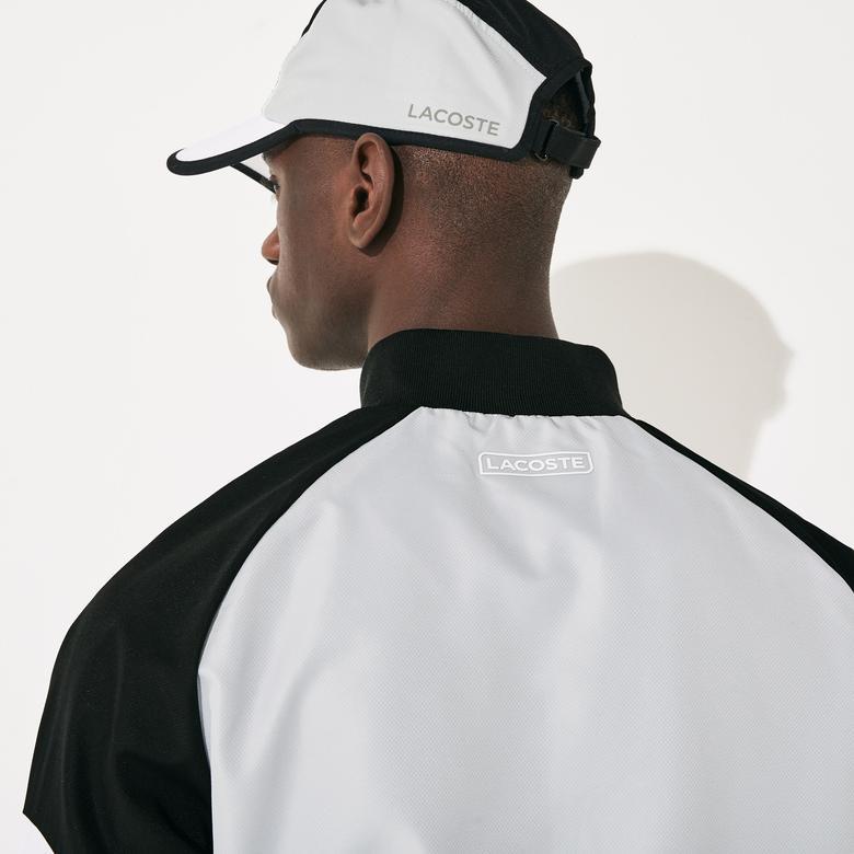 Lacoste Sport Erkek Blok Desenli Siyah Eşofman Takımı