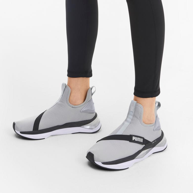 Puma LQDCELL Shatter Mid Kadın Gri Spor Ayakkabı