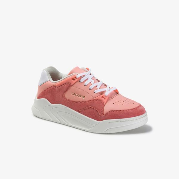 Lacoste Court Slam 120 4 US SFA Kadın Pembe Sneaker