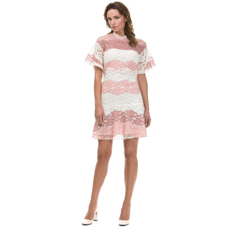 Burberry Kadın Pembe Elbise