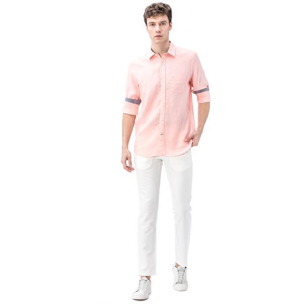 Nautica Erkek Kırık Beyaz Keten Pantolon