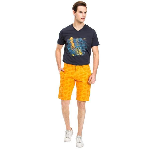 Nautica Giyim Turuncu Bermuda