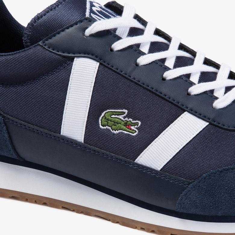 Lacoste Partner 120 4 Sma Erkek Lacivert Sneaker