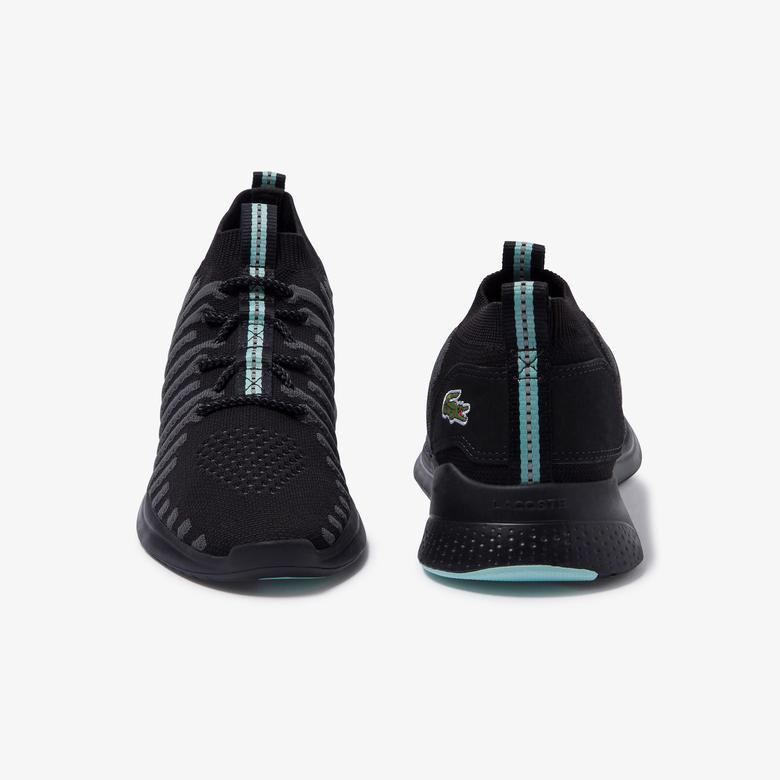 Lacoste Lt Fit-Flex Erkek Siyah - Açık Yeşil Spor Ayakkabı