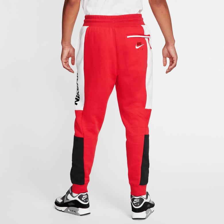 Nike Sportwear Air Erkek Kırmızı Eşofman Altı