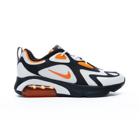 Nike Air Max 200 Erkek Siyah-Beyaz Spor Ayakkabı